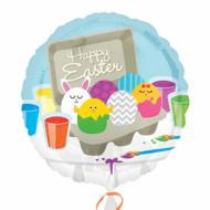 Palloncino di alluminio di Pasqua Happy Easter