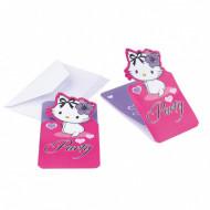 6 inviti di compleanno Charmy Kitty™