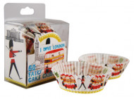 60 pirottini di carta per cupcakes