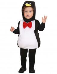 Travestimento a sbuffo da pinguino per neonato