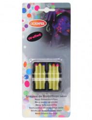 6 matite da trucco fluorescenti