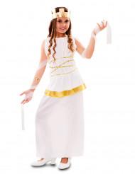 Costume da dea dell'antica Grecia per bambina