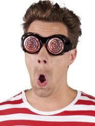 Occhiali a spirale per adulto