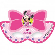 6 maschere di cartone Minnie Bow-Tique™