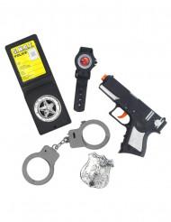 Kit accessori da poliziotto per bambino