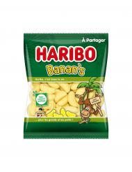 Confezione da 40 gr di caramelle banane Haribo