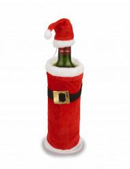 Mantello e cappello di Natale per bottiglie