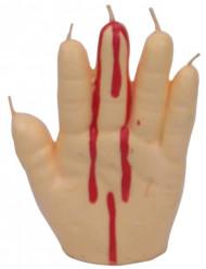 Candela mano sanguinante