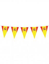 Ghirlanda con gagliardetti bandiera spagnola
