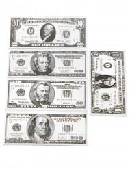 18 banconote finte dollari