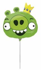 Palloncino verde in alluminio di Angry Birds™