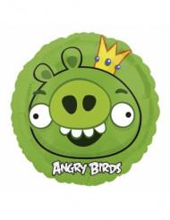 Palloncino alluminio maialino verde Angry Birds™