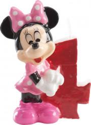 Candelina numero 4 Minnie™
