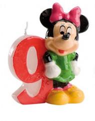 Candelina numero 9 Minnie™