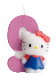 Candelina numero 9 Hello Kitty™