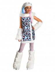 Costume lusso Abbey Bominable di Monster High™ bambina