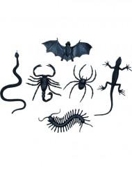 6 decorazioni mostriciattoli Halloween