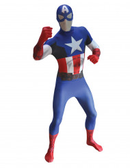 Costume Captain America da adulto Morphsuits