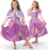 Costume principessa Raperonzolo bambina deluxe