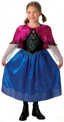 Travestimento deluxe da Anna Regina delle Nevi™ di Frozen™ per bambina