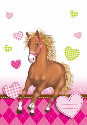 6 buste regalo con cavallo