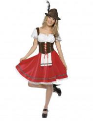 Costume donna bavarese per l'Oktoberfest