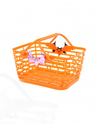 Cestino per caramelle arancione Halloween