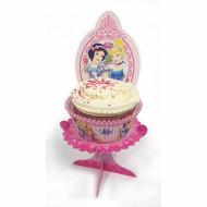 4 mini supporti per cupcakes Principesse Disney™