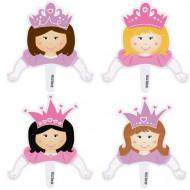 Decorazioni per cupcakes principessa