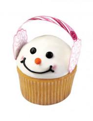 12 decorazioni proteggi orecchie per cupcakes