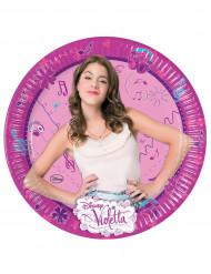 8 piatti di cartone Violetta™