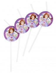 6 cannucce in plastica con la Principessa Sofia™