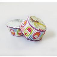 24 pirottini per cupcakes piccoli chef
