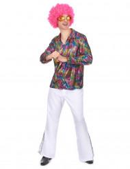camicia per uomo in tema Disco