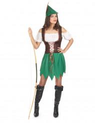 Costume brigante dei boschi donna