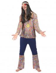 Vestito hippie adulto