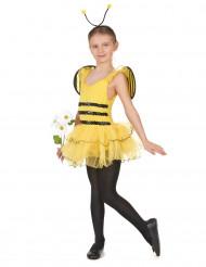 Costume da ape per bambina con tutù e ali