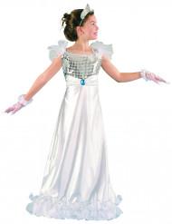 Costume da principessa per bambina colore bianco