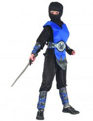 Costume ninja blu per bambino