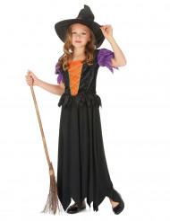 Costume da strega lungo per bambina