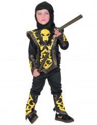 Costume da ninja giallo bambino