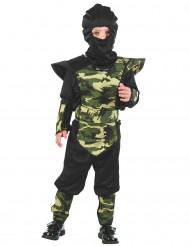 Costume ninja militare da bambino