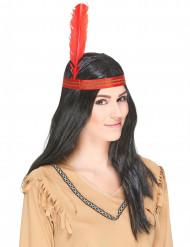 Parrucca da indiano uomo