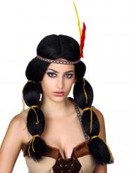 Parrucca da donna indiana
