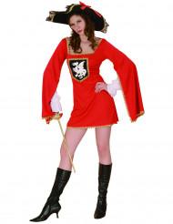 Costume da moschettiere per donna