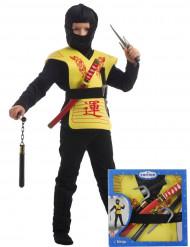 1 set completo da ninja