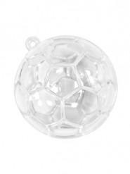 3 contenitori trasparenti pallone da calcio