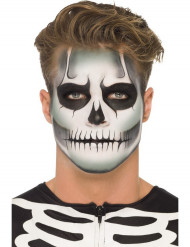Kit trucco per Halloween effetto scheletro fosforescente