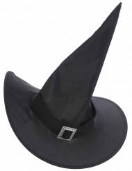 Cappello da strega con cinturino per adulto Halloween