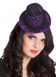 Mini cappello viola halloween regnatela